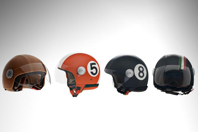 Leather Helmets by Andrea Cardone