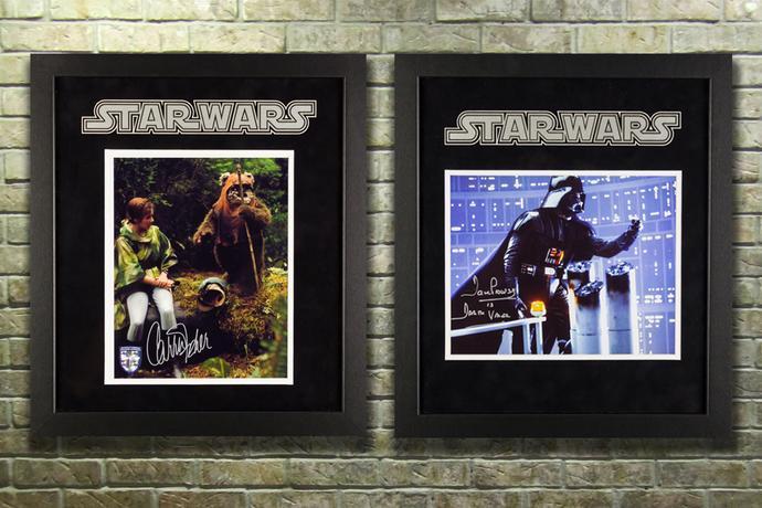 Signed Star Wars Memorabilia