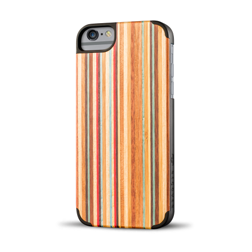 Skateboard Wood iPhone 6 Plus Case