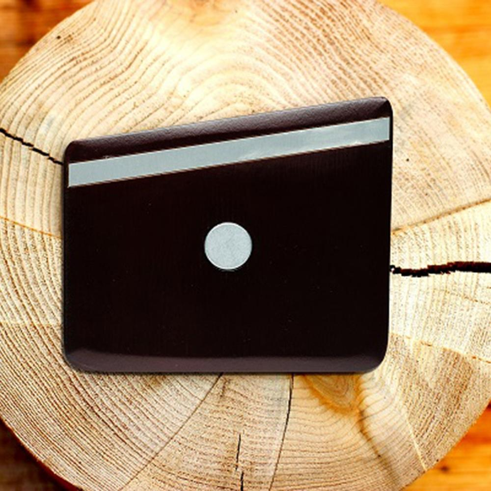 Wooden Pocket Square | Cocoa Metal | Baffi | Cocoa Bean Wood