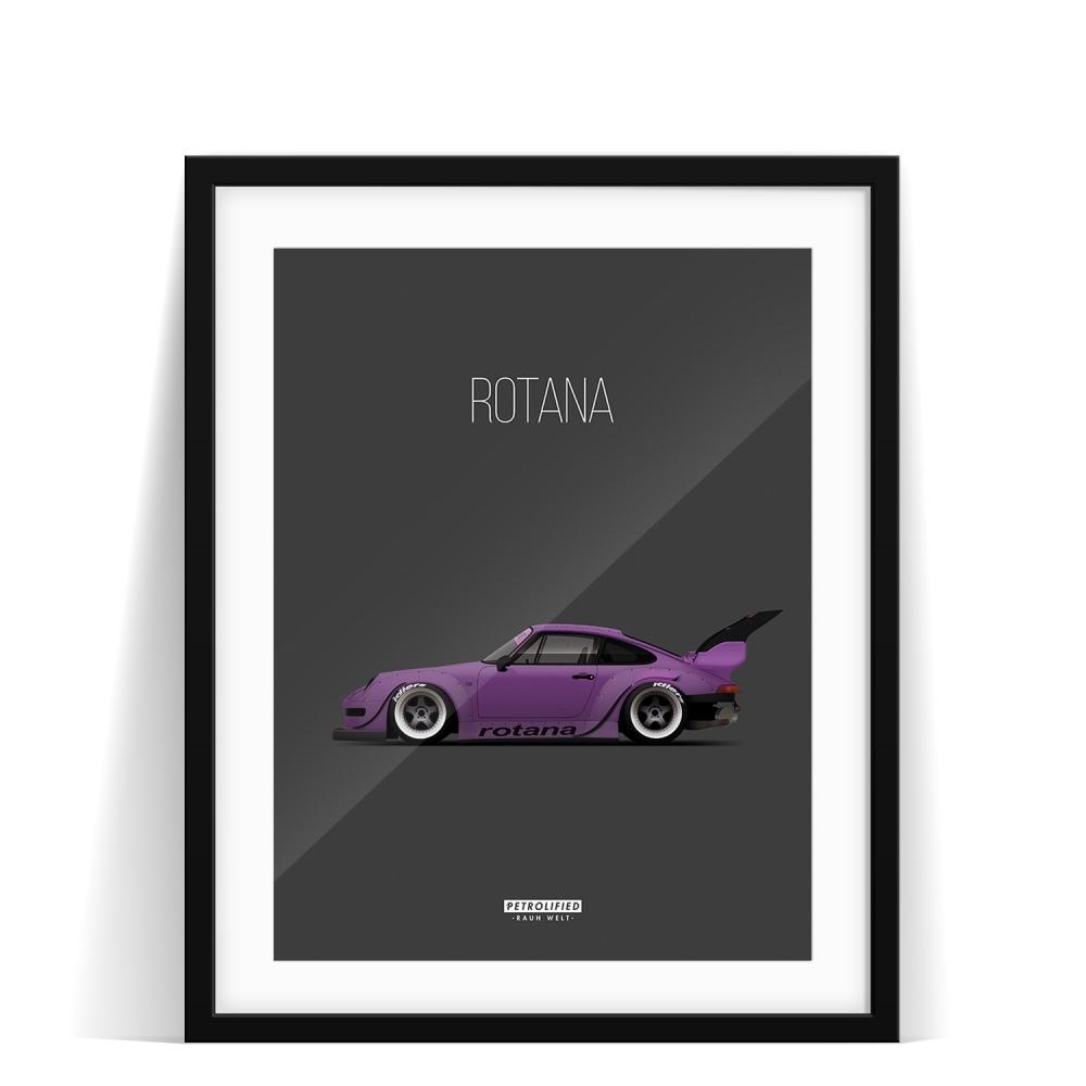 car prints, Rotana, luxury car art