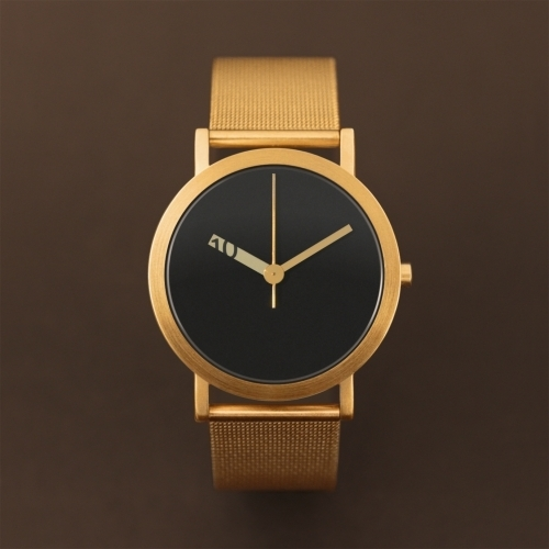 Large Gold Mesh Watch | Extra Normal Grande | Normal Watches