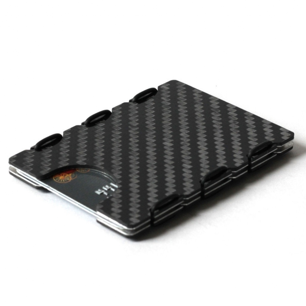 RFID Carbon Fiber Card Case, Slimtech