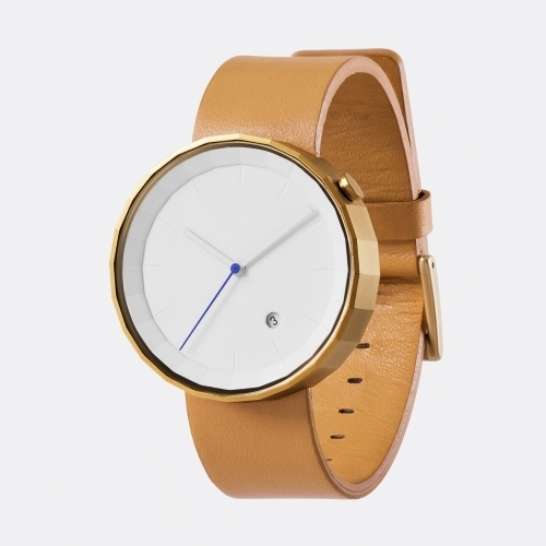 Polygon Watch, Brown