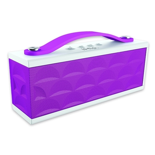 Sound Machine Speaker, White/Purple, iHip