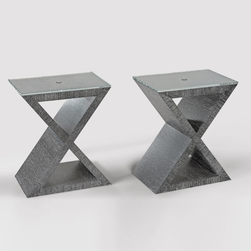 X Linea Side Table