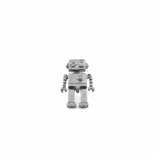 Lapel Pin, Robot, Wurkin Stiffs