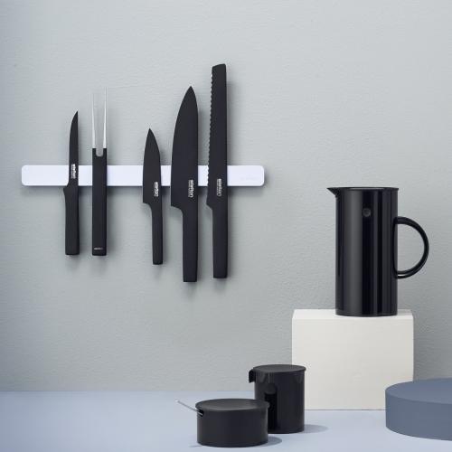 Pure Black Bread Knife, Stelton