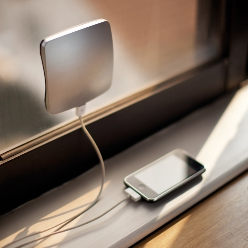 Window Solar Charger, Silver