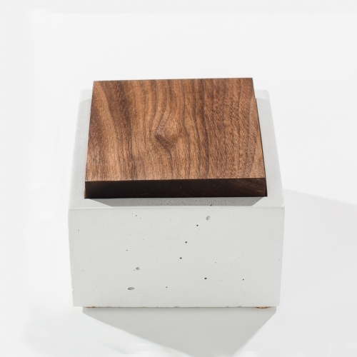 Square Box, White