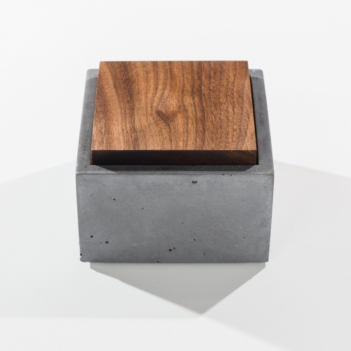 Square Box, White, IN.SEK Design