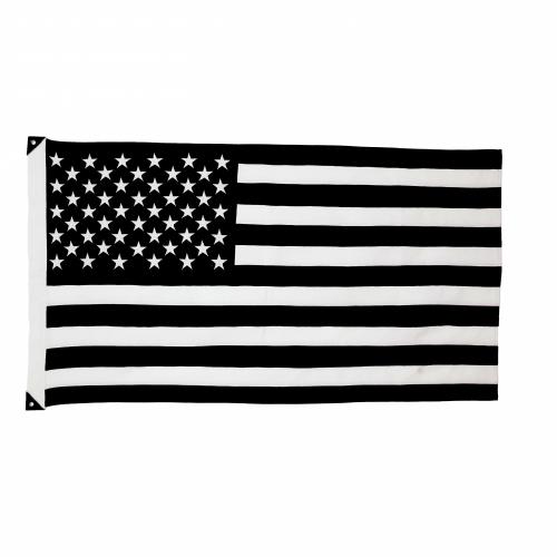 Wool American Flag, White, Savarin & Charton