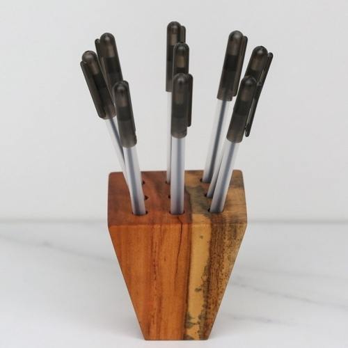 Pen Holder, The Wooden Palate
