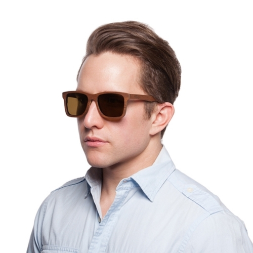 Handmade Sunglasses | Steadman Walnut Sunglasses | Parkman