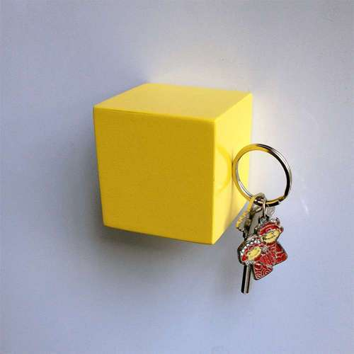 Kube Key Holder, Yellow