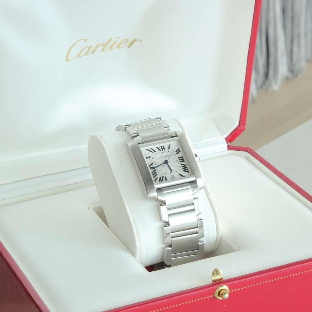 Cartier Men's Tank Francaise Watch