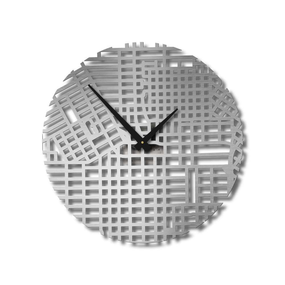 Houston Montrose Clock | Urban Story | Streets Wall Clock