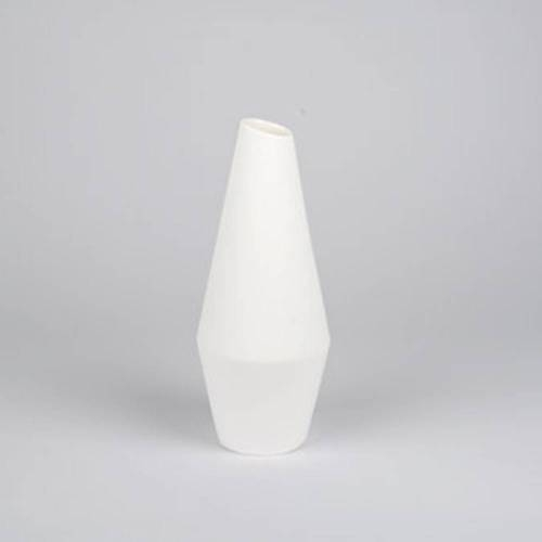 Crooked Vase, White