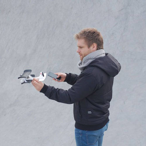 SmartPlane - A Smartphone Controlled, Magically Simple, Crash Proof Airplane