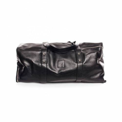 Derek Diagonal Duffle Bag | Black