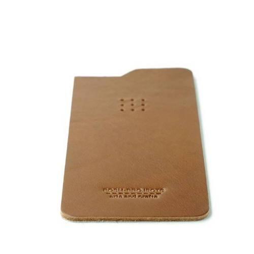 504 iPhone 6 Leather Skin, Brown - Leather iPhone Skin