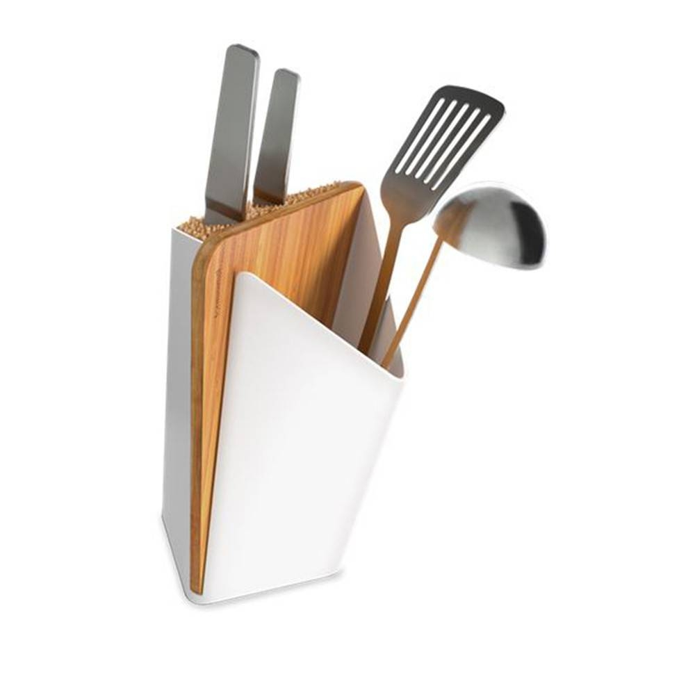 Utensil / Knife Holder + Board - Beautiful Knife and Utensils Storage