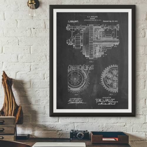 Gearing Patent Print