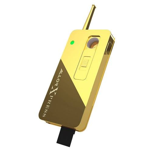 Xpress, Gold Finish - Allor Vaporizers