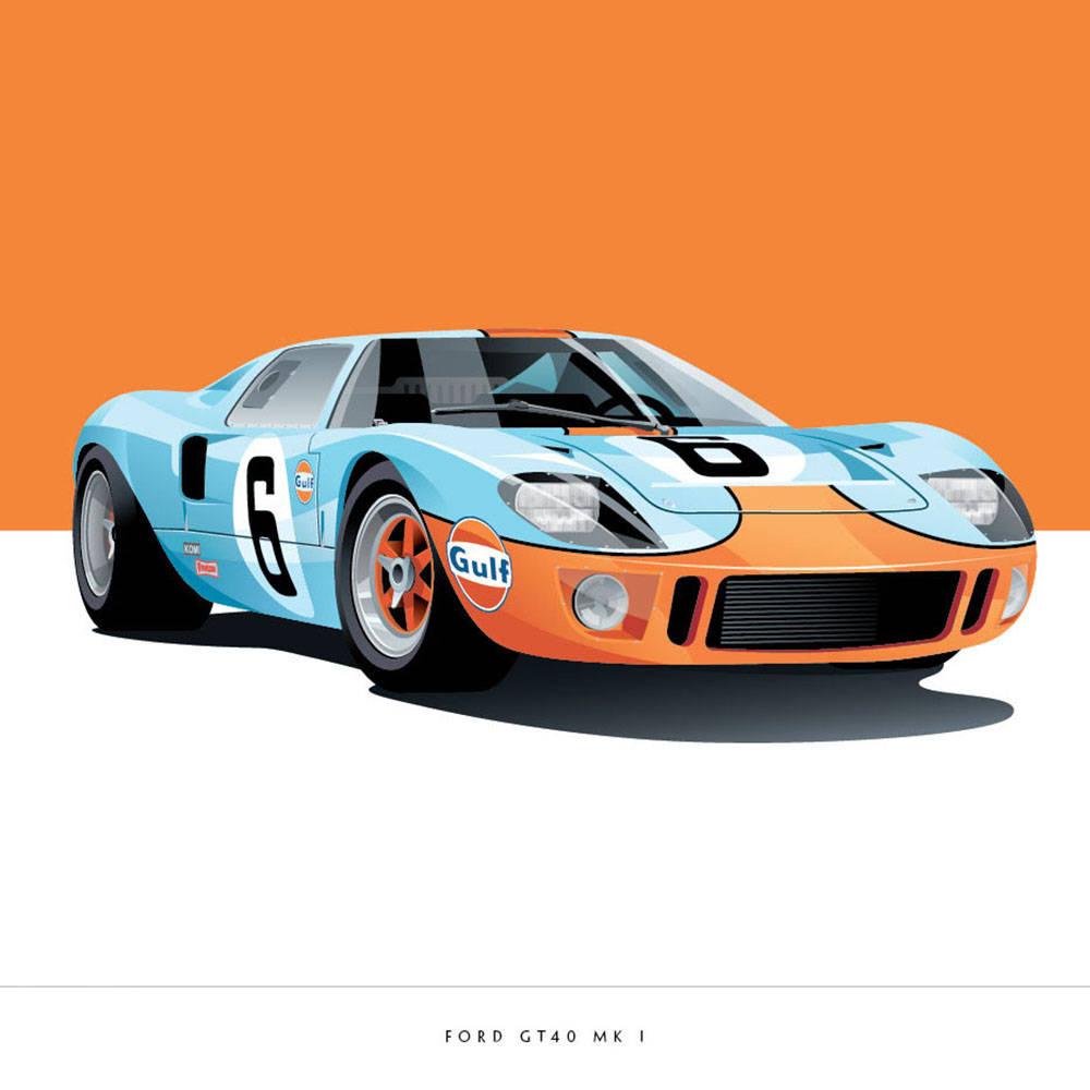 Ford GT40 - Arthur Schening