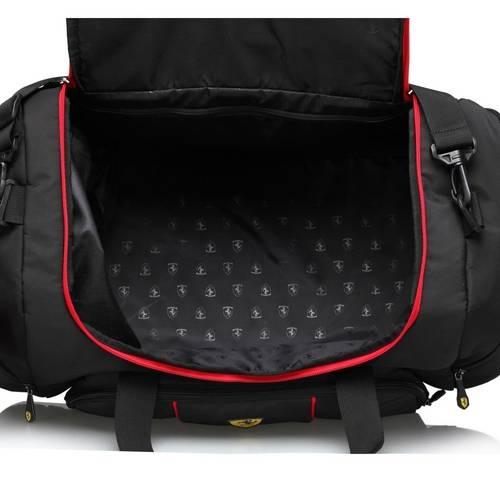 Black Overnight Bag - Ferrari