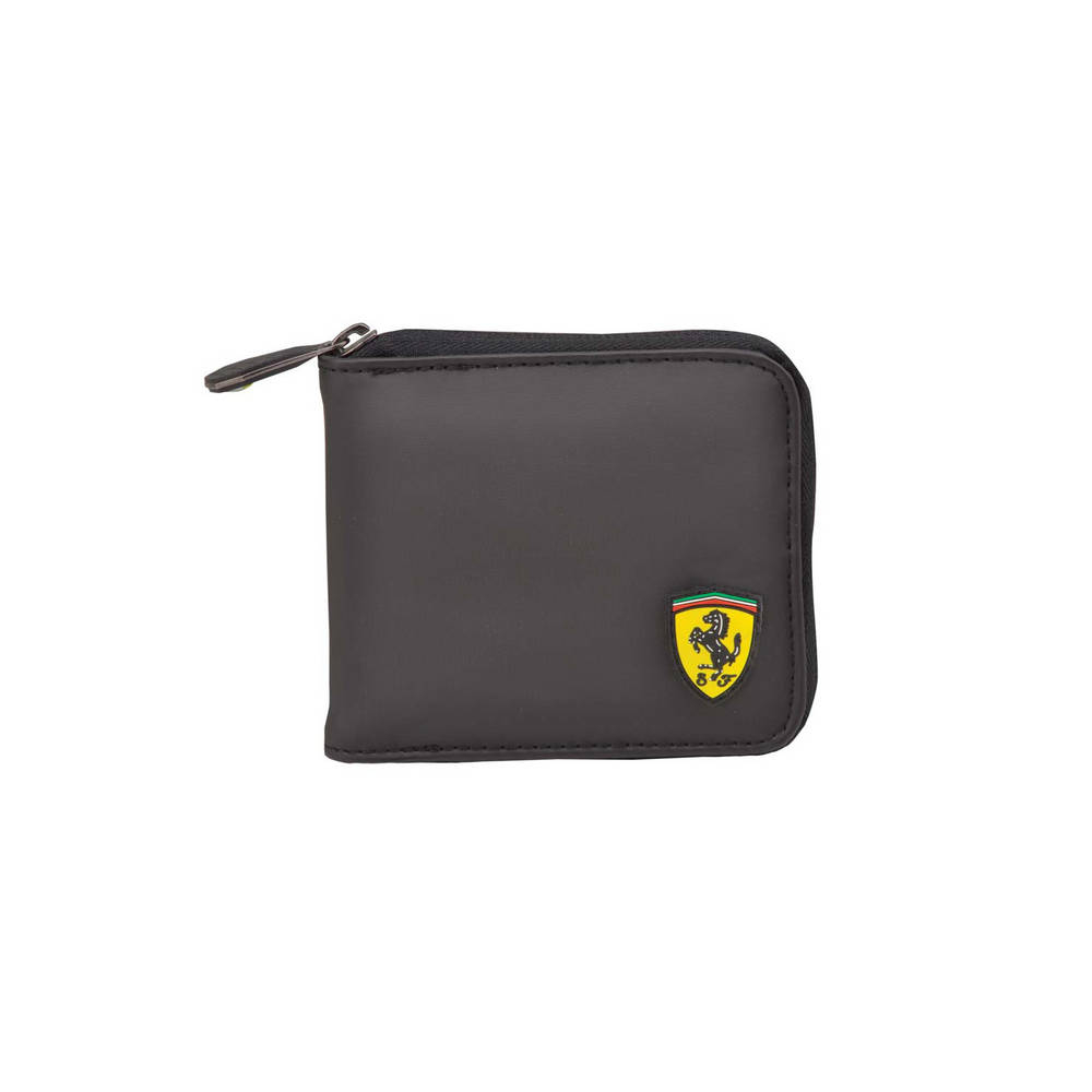 Black Wallet - Ferrari