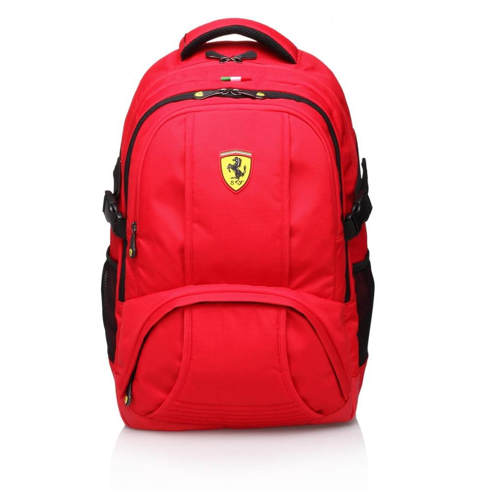 Red Travel Backpack - Ferrari