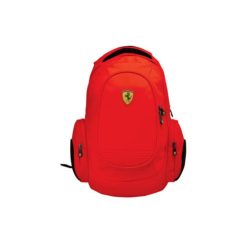 Red Laptop Backpack - Ferrari