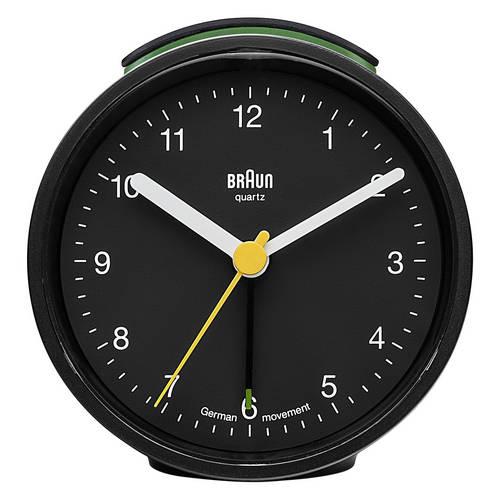 Quartz Alarm Clock, Round - A Classic Alarm Clock