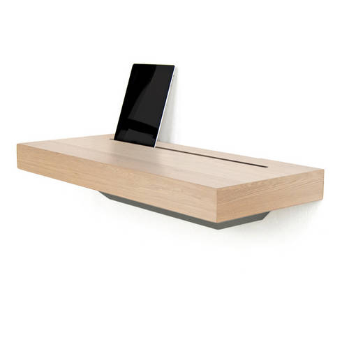 Stage Interactive Shelf Oak - An Elegant Meeting Place for all your Re-chargeable Handheld Devices
