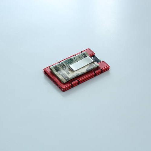 Wallum M1 Clip Card Holder Wallet | Aluminum Wallet