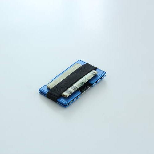 Wallum T1 Textile Card Holder Wallet | Aluminum Wallet