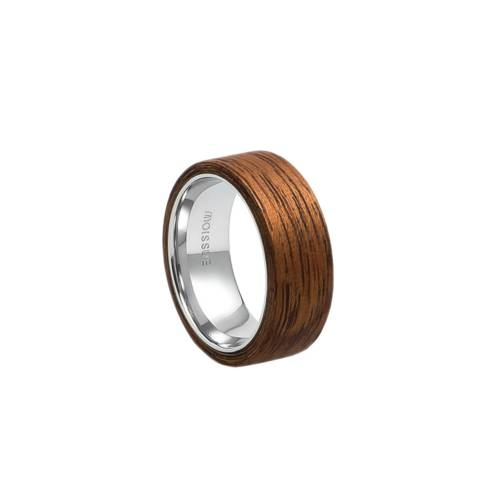 Mono Wide Mahogany Ring