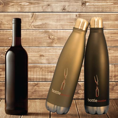 750ml Decanter | Black Wine Decanter | Bottle Motion