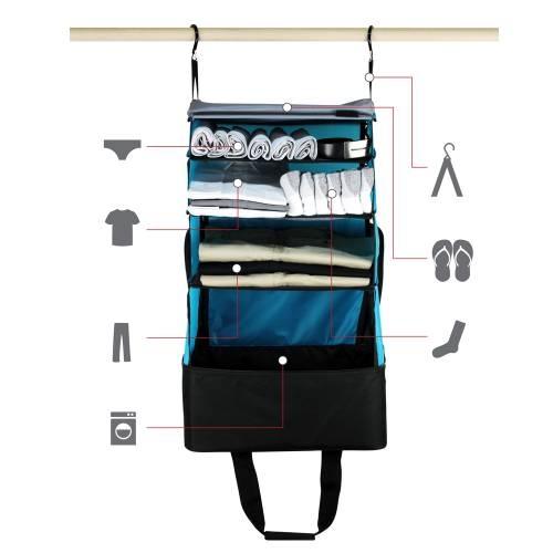 Jumper Carry-On Bag | Black&Blue