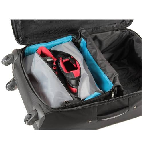 Jumper Carry-On Bag with Collapsible Shelves - BLUE