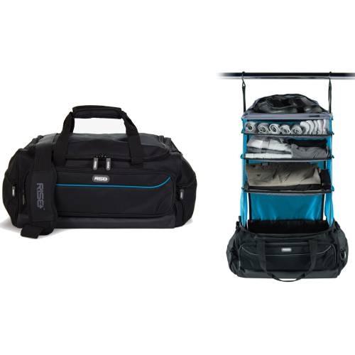 Weekender Duffle Bag | Black&Blue