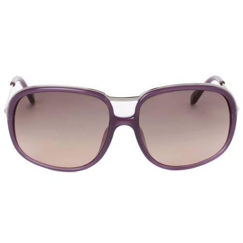 Tom Ford TF282 78B Cori Shiny Lilac Aviator Sunglasses