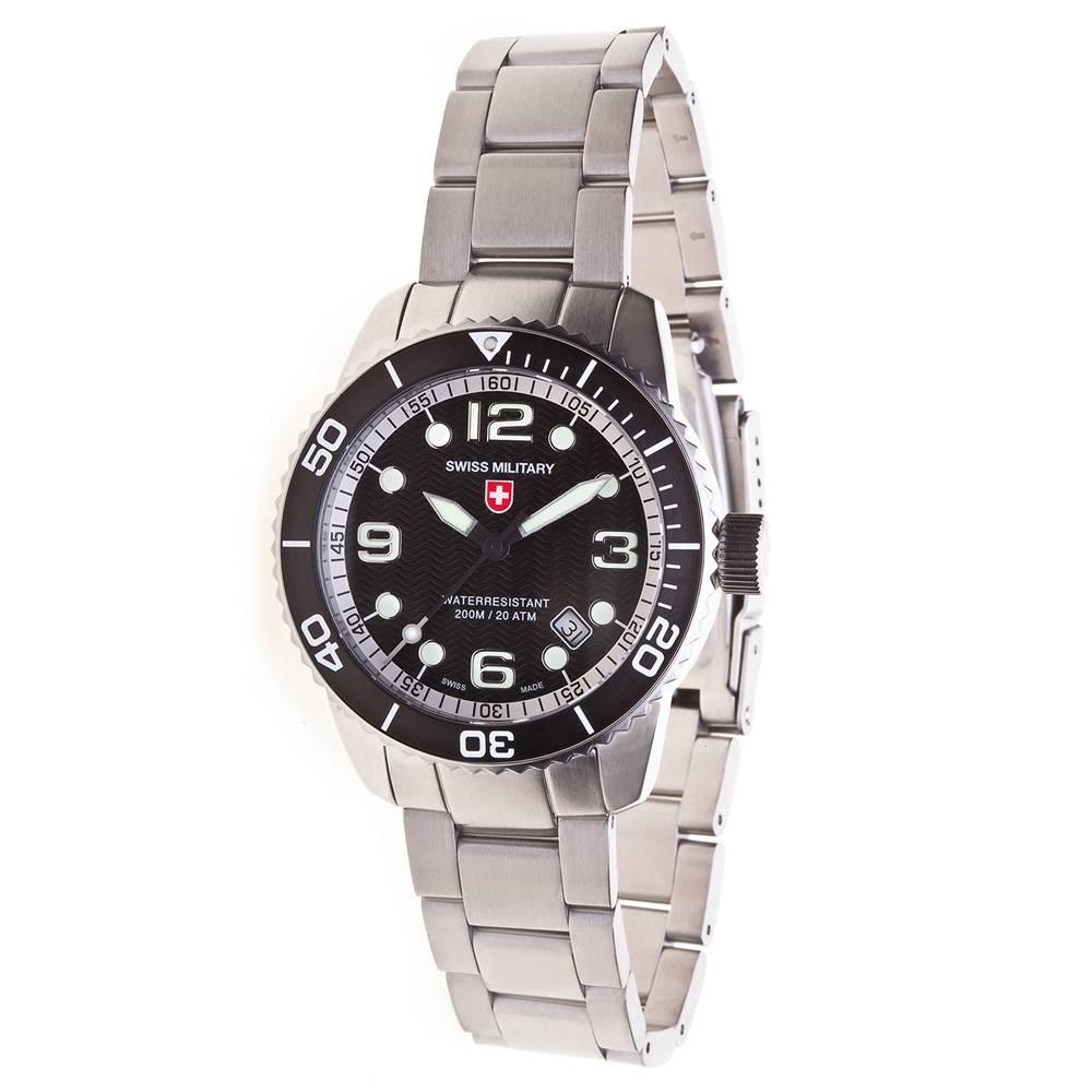 Swiss Military Watches  - MARLIN Black