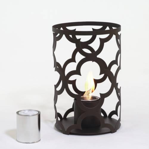 Mediterranean 15X10 Outdoor Steel Lantern in Bronze