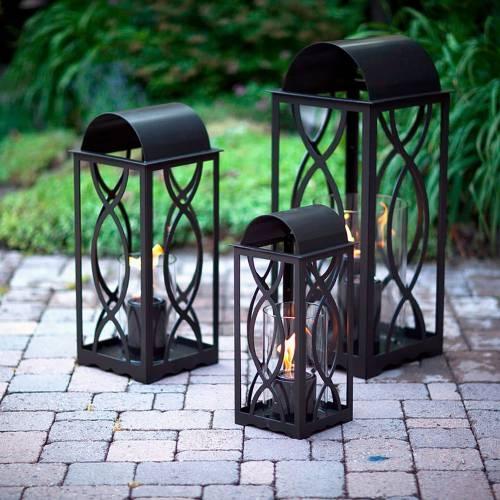 Georgian Lantern by Terra Flame Home