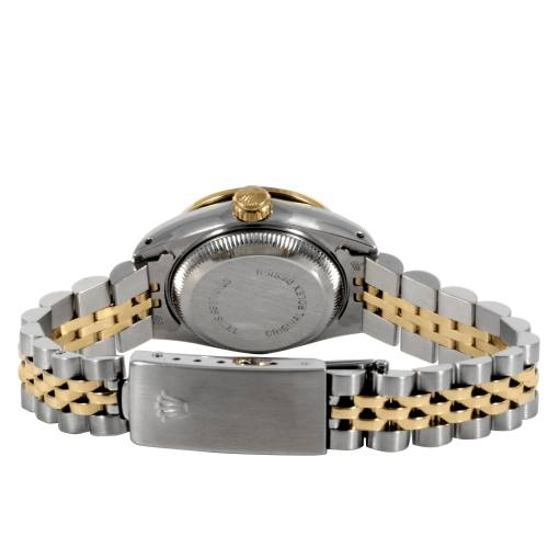 Rolex Ladies Stainless Steel and Yellow Gold Datejust Watch