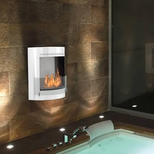 Malibu Fireplace by Eco-Feu