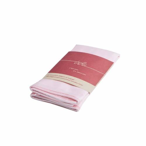Edith Two-ply Handkerchief