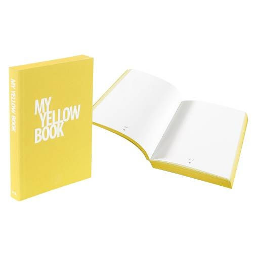 Designer A5 Journal, Yellow